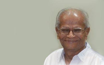 The late Dr Manu Kothari